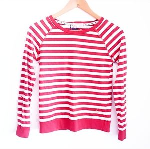 MARKS & SPENCER ANGEL Red and White Stripe Top